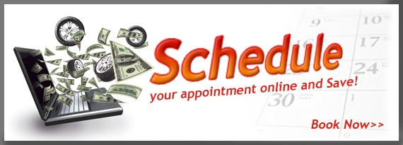 Schedule online appointment for auto repairs and tires in Callaway, FL