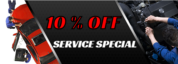 $10 OFF Service Special